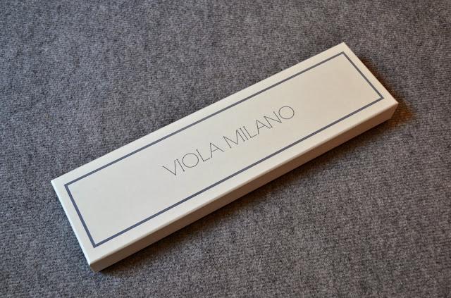 Review corbata 7 fold 100% cashmere de Viola Milano.