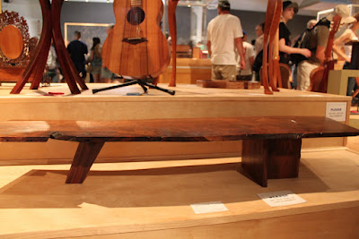 Plank table by Jeffrey Crussell