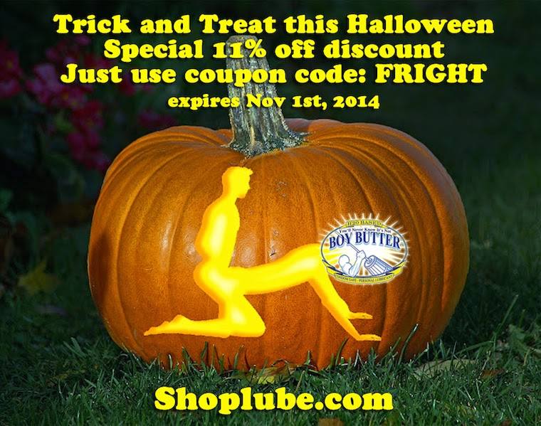 Trick and Treat sale for Halloween @ Shoplube.com