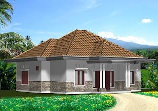 rumah sederhana desain minimalis pedesaan indahnya