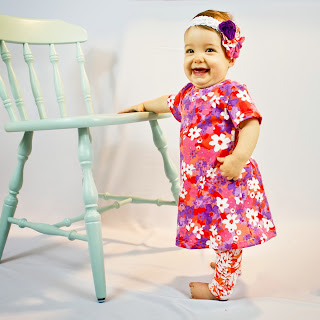 short sleeve baby dress pattern