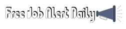 Free Job Alert Daily