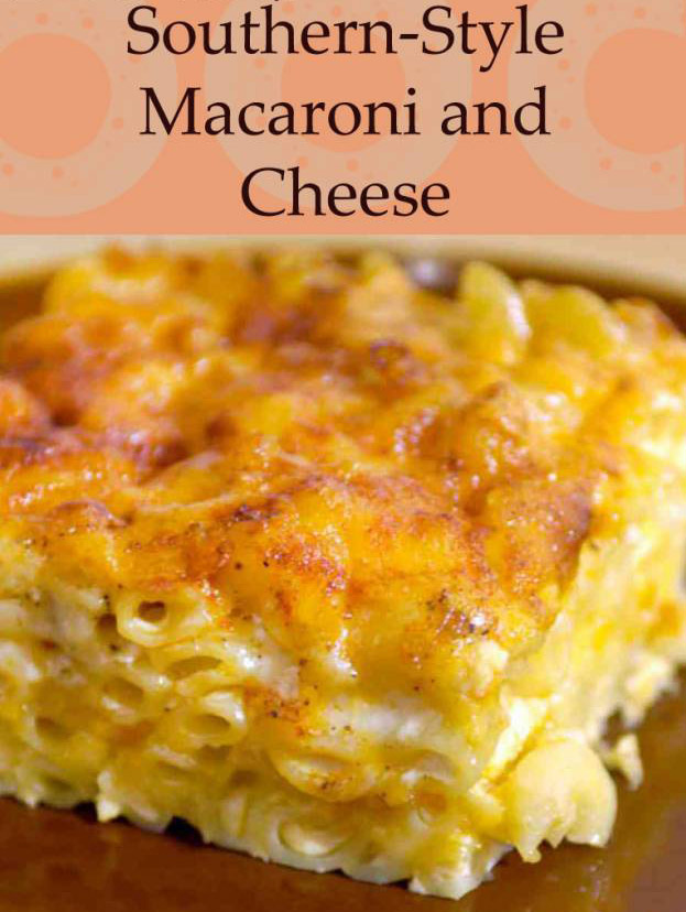 cooking of the world southern baked macaroni and cheese