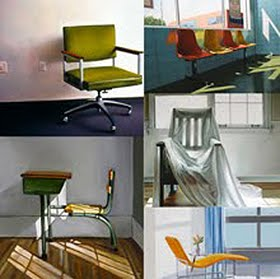 Paintings of chairs