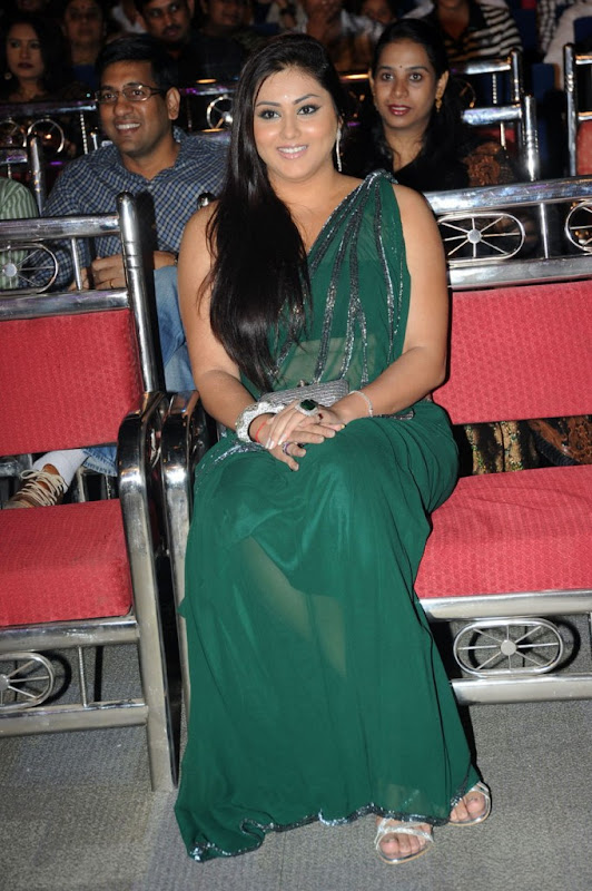 Namitha at Cinemaa Awards  Hot Saree Stills Photogallery unseen pics