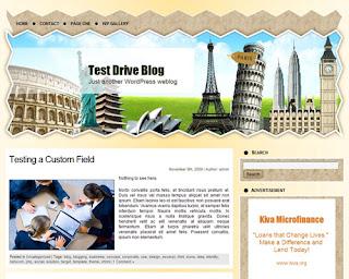WP Travel Theme 1 Wordpress Theme