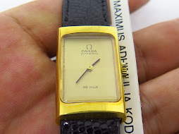 OMEGA DE VILLE LADY WATCH - SQUARE CASE - AUTOMATIC