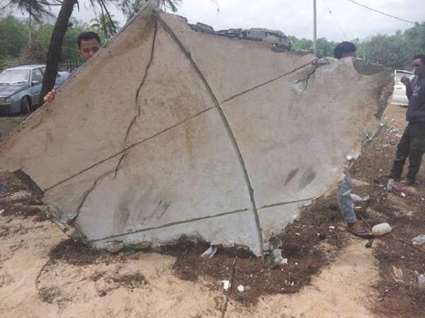 KECOH! Objek Seakan Serpihan Pesawat Ditemui Di Terengganu