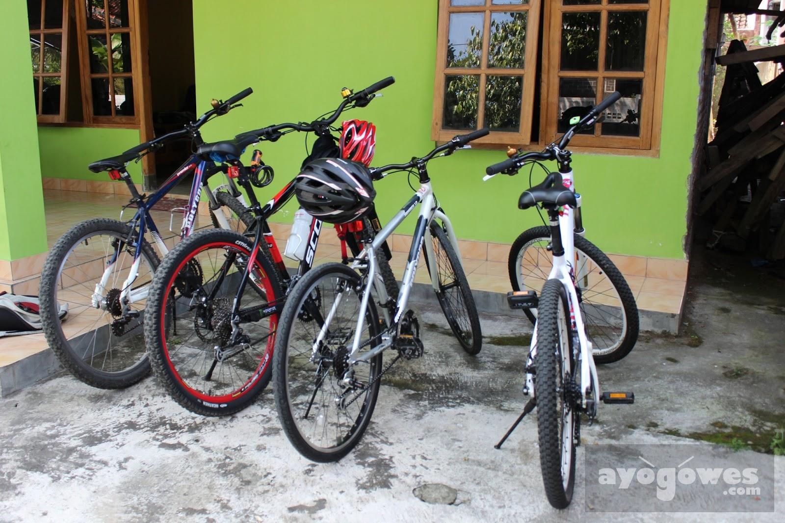 Macam jenis sepeda gunung MTB : Ayo Gowes