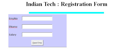 Registration Form Using PHP And MySQL