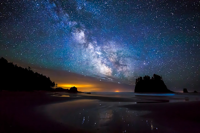 Milky Way Washington
