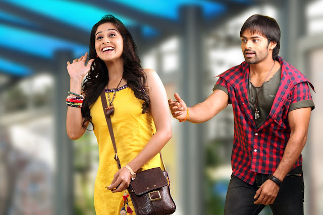 Sai Dharam Teja,Regina Movie Stills
