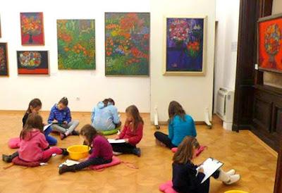рисуване за деца в квадрат 500 изиарт