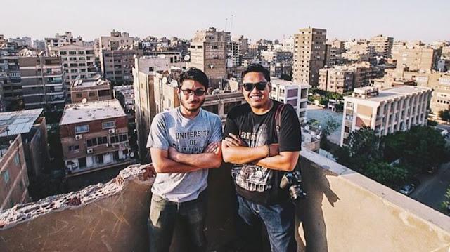 Cairo - Kaio bersama sahabat yang belajar di mesir