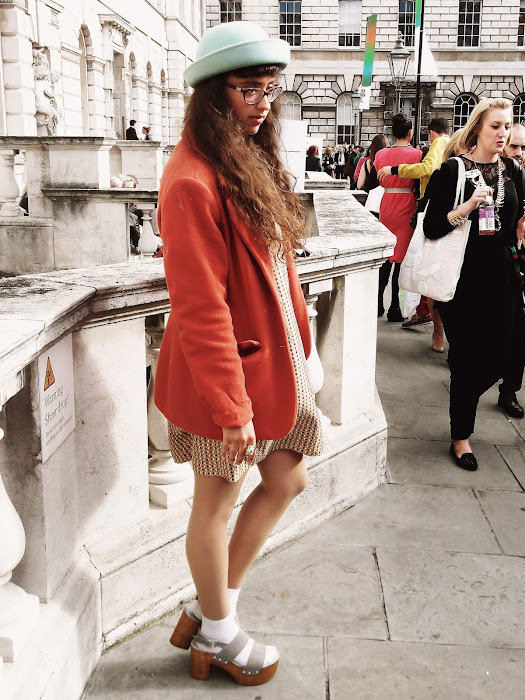 it's cohen - UK style blog: london fashion week, lfw, SS13, somerset house, dina, she loves mixtapes, shelovesmixtapes, street style