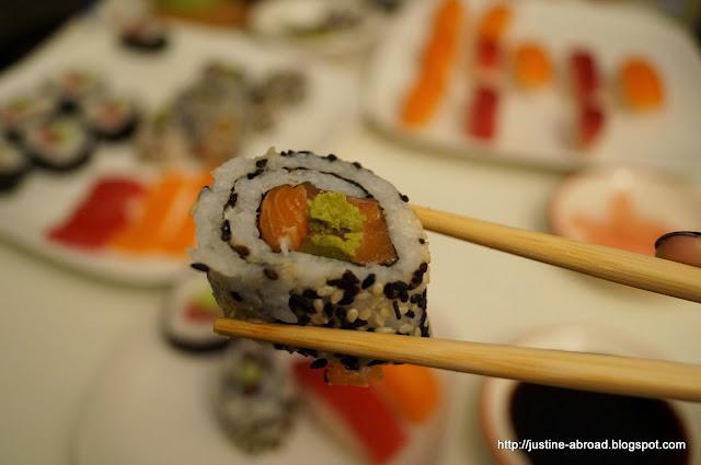 sushi, kuchnia japońska