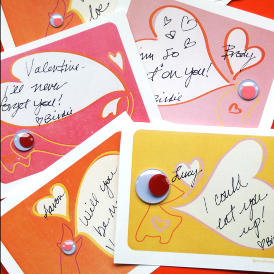 Inspiraciones 5 : tarjetas y decoración para el día de San Valentín