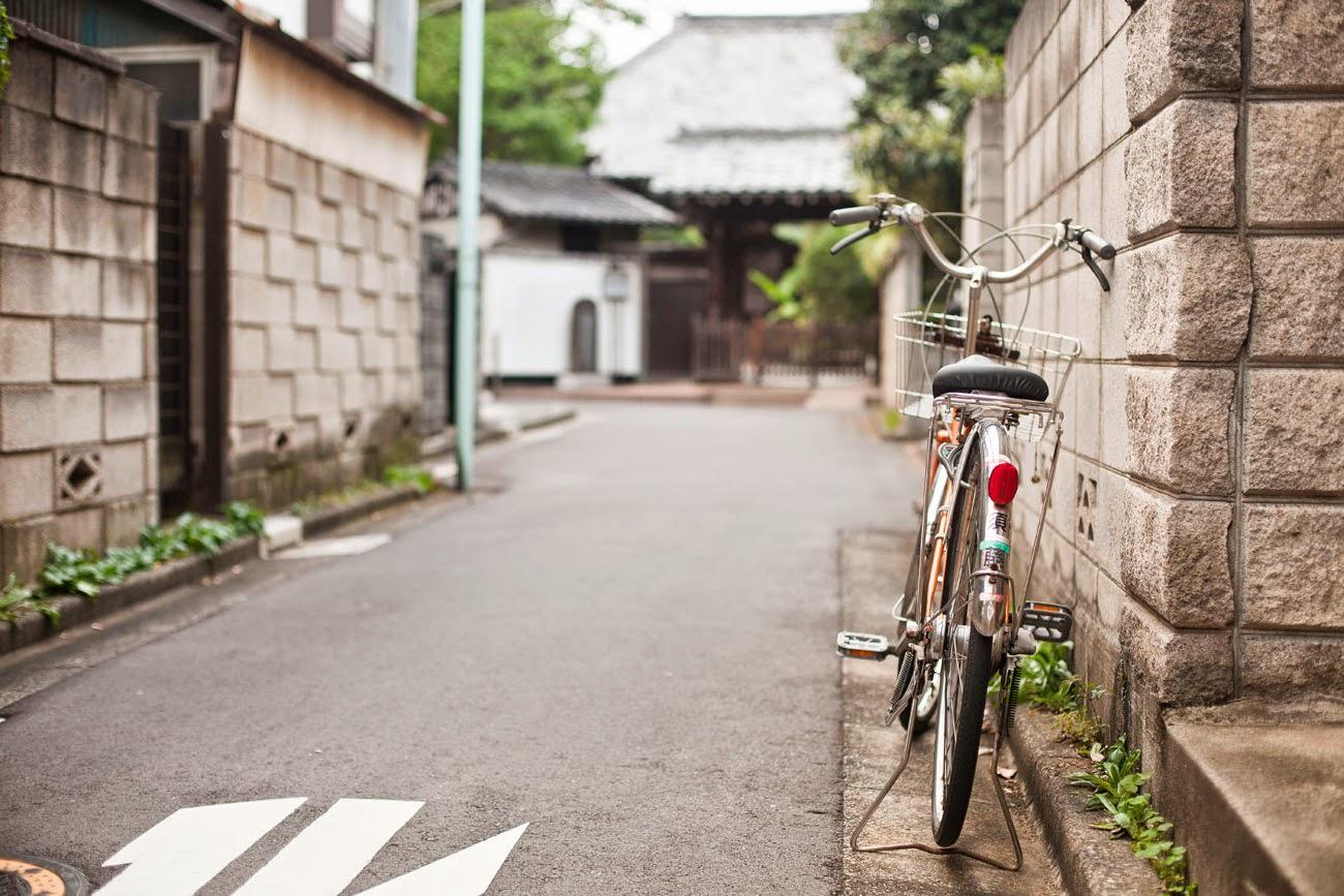 Bicicleta en Ikebukuro