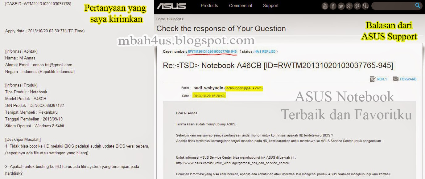 asus support