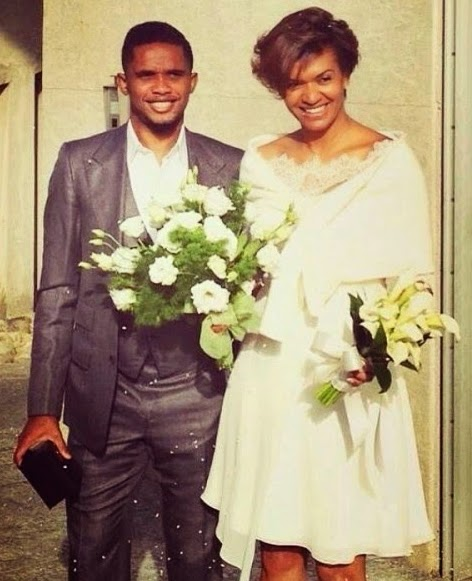 samuel etoo wedding photos