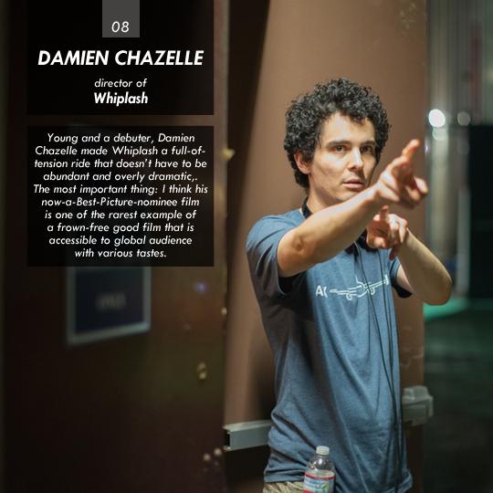 Damien Chazelle (Whiplash)