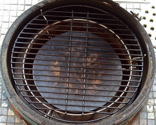 indirect heat, kamado grill baking