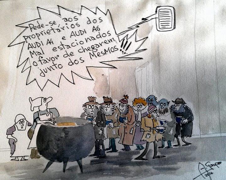 Portugal, Pobreza, Miséria, Audi, Topo de Gama, Sorteio do Fisco