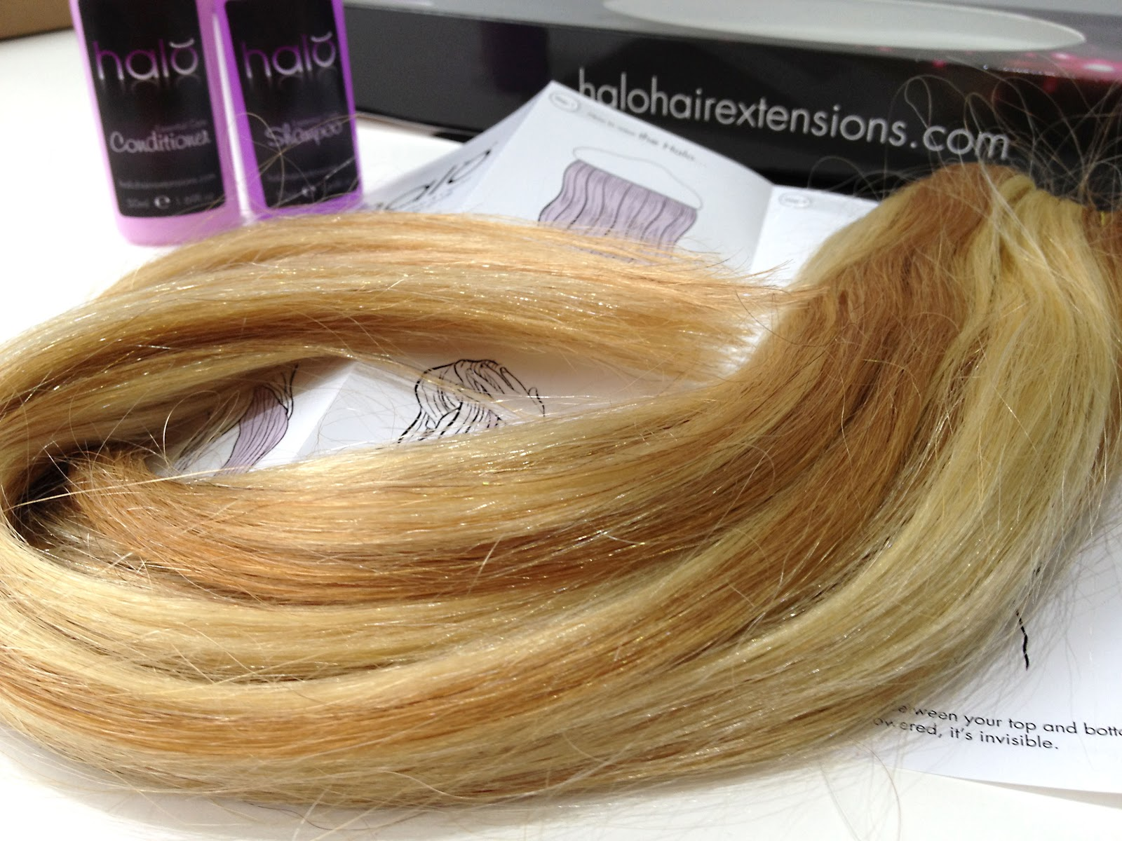 Birds words beauty fashion lifestyle halo hair the halo halo hair extensions in mixed blonde 1822 halohairextensions baditri Image collections