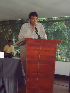 Dr.Jehan Perera, the Executive Director of the National Peace Council