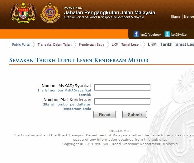 Insuran Kereta Kenderaan Takaful Ikhlas E Agent Takaful Malaysia Kurnia Insurans Insuran Plks Semakan Tarikh Cukai Jalan Roadtax Tamat Tempoh