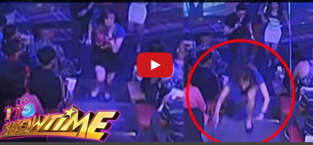Watch Anne Curtis Trips on Stairs During It's Showtime 'Pinasikat' Segment Sept 5 Episode #AnneDapa