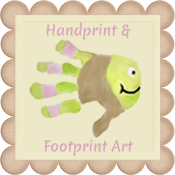 Handprint & Footprint Art {Kids Craft Blog}