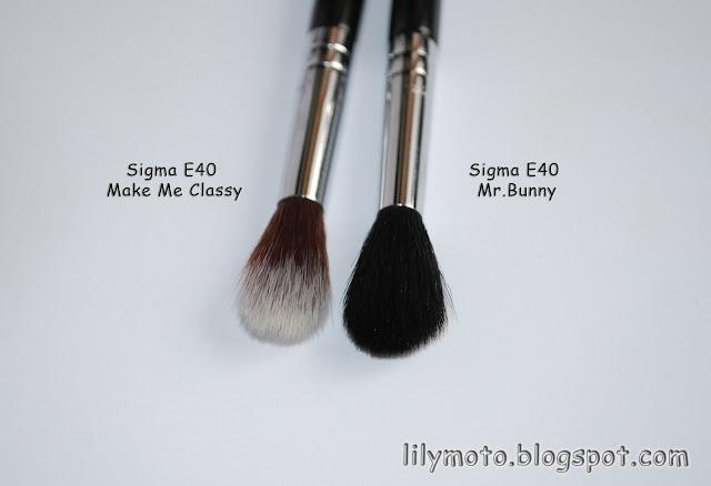 Кисть для растушевки теней Sigma Mr.Bunny Е40
