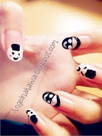 Angelkawai's Diary: My Simple + Cute Nail Art