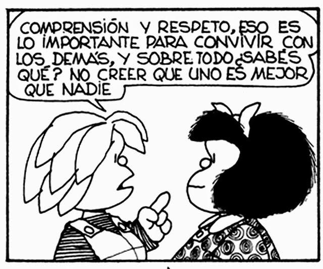 Bon consell de Quino!
