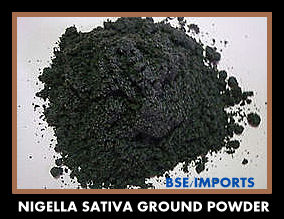 Black Cumin Powder - Ground Seeds