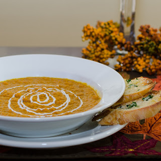 Roasted Carrot Malbec Soup