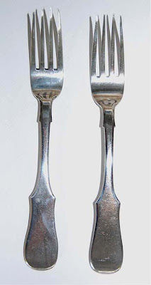 Russian silver fork/forks