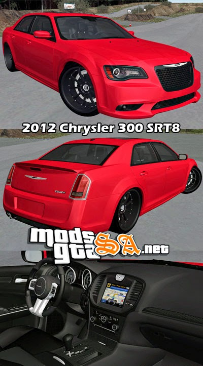 SA - Chrysler 300 SRT8 2012
