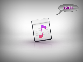Capo useful software for musicians