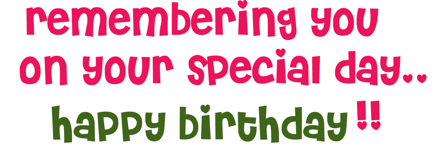 Cute Clipart Cute Happy Birthday Clipart Greetings for Facebook – Birthday Text Greetings
