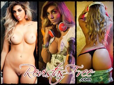 Revista Sexy - Laila Brennand - Janeiro 2015
