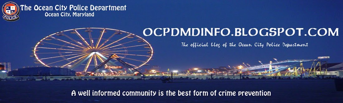OCPD OFFICIAL BLOG