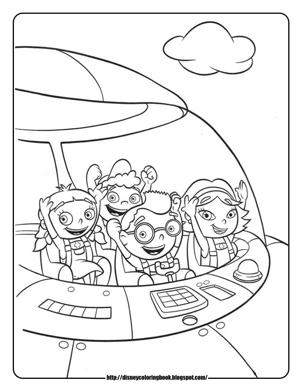 Disney Coloring Pages and Sheets for Kids: Little Einsteins 4: Free ...