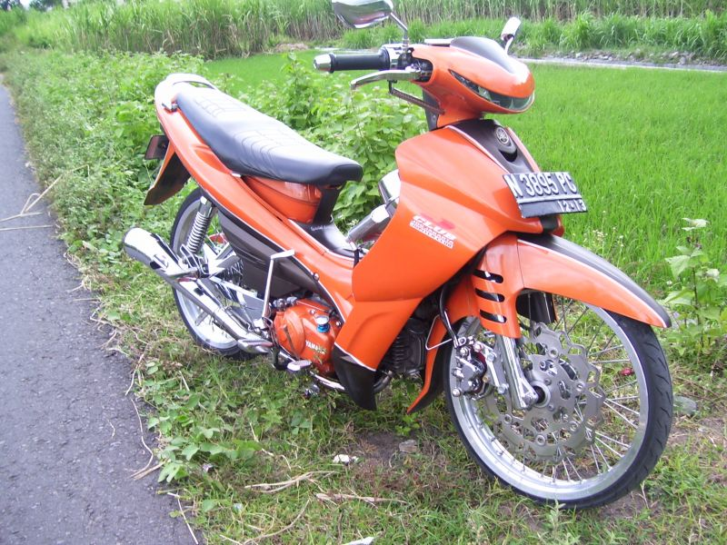 Modifikasi Yamaha Jupiter Z title=