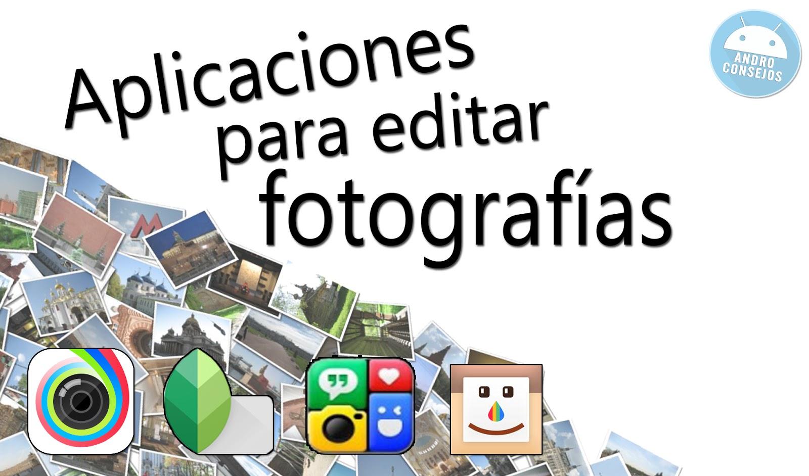 Recomendaci n de aplicaciones para editar fotograf as for Aplicaciones para disenar