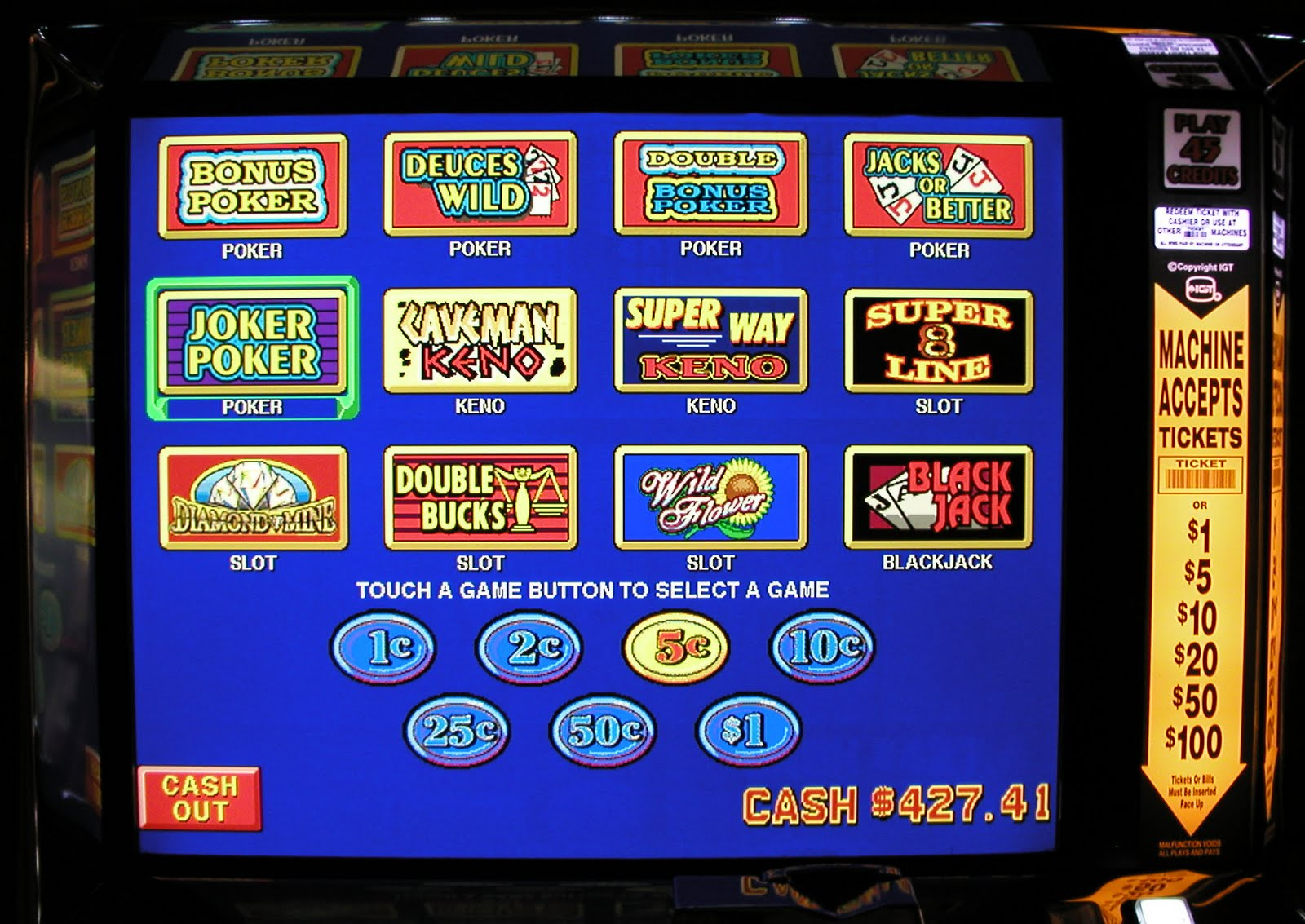 8 race slot machine