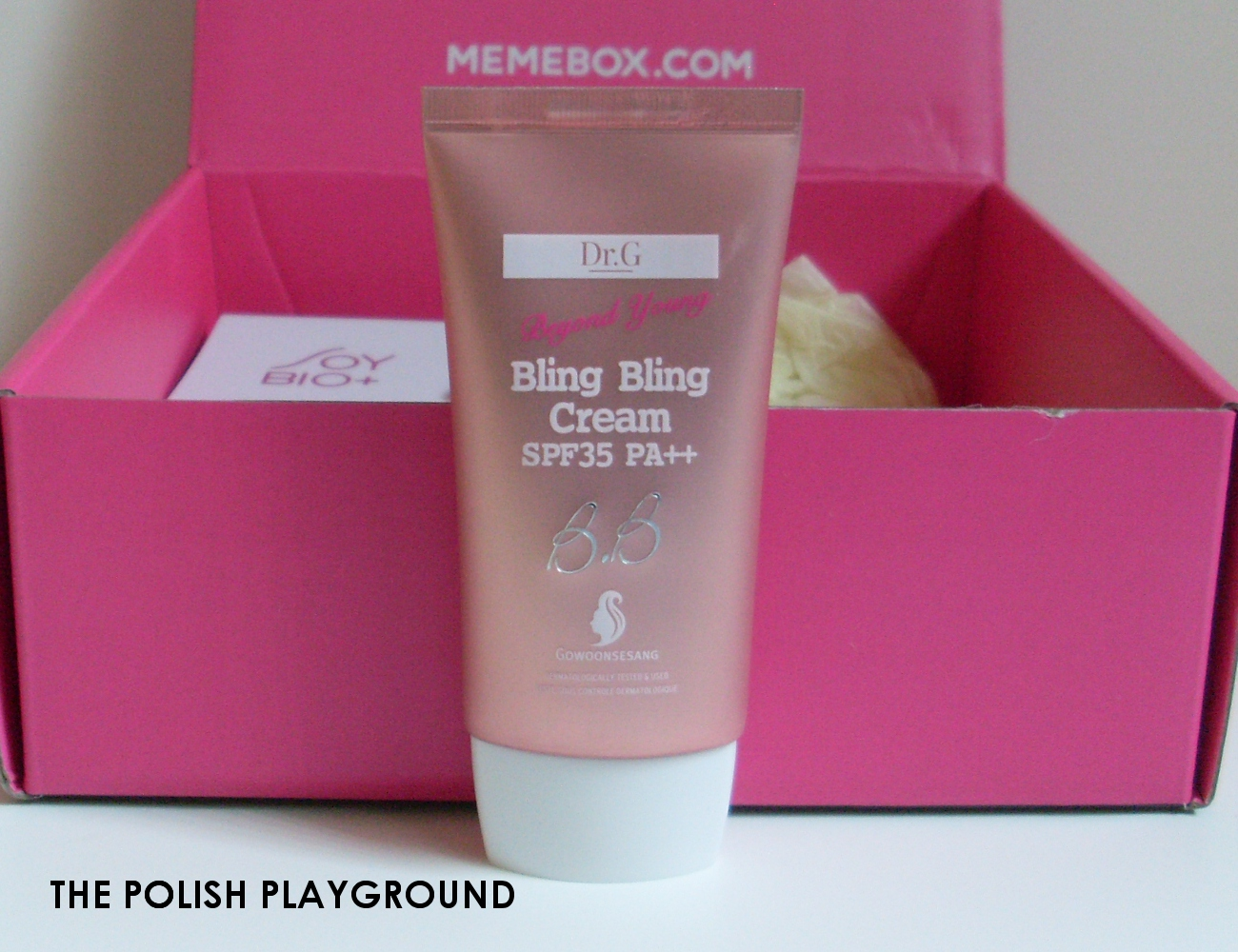 Memebox Luckybox #11 Unboxing - Dr.G Bling Bling Cream SPF35 PA++