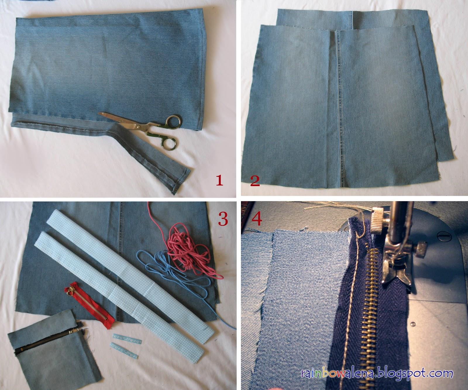 Как сшить джинсы своими руками с фото 390