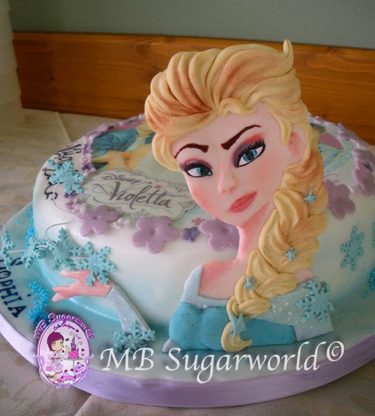 walt disney cake